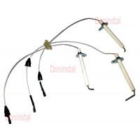 Электроды с кабелем Q253 на газовый котел Protherm Пантера 12 KTO/KOO 15, 12 KTO/KOO 170020034893