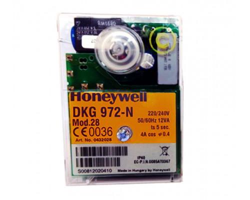 Блок управления горением Honeywell DKG-N 972 Mod.28 Satronic 0432028U
