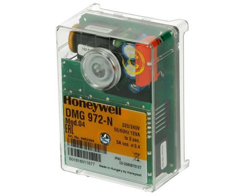 БЛОК УПРАВЛЕНИЯ ГОРЕНИЕМ (Топочный автомат) Honeywell Satronic DMG 972-N mod 04 (арт. 0452004)