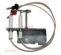 Электрод розжига и ионизации для газовой колонки Vaillant MAG premium 24/2 XI, GXI090727