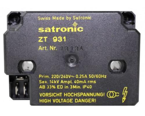Трансформатор поджига Satronic/Honeywell ZT931 13134