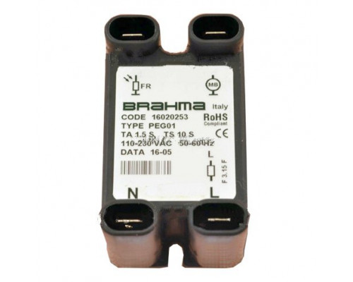Устройство контроля пламени Brahma PEG01, 16020253