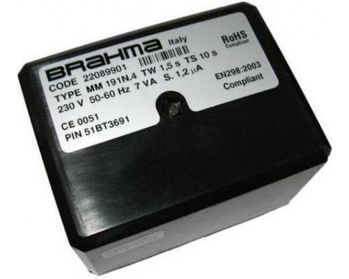 Блок управления горением Brahma MM 191N.4   22089901