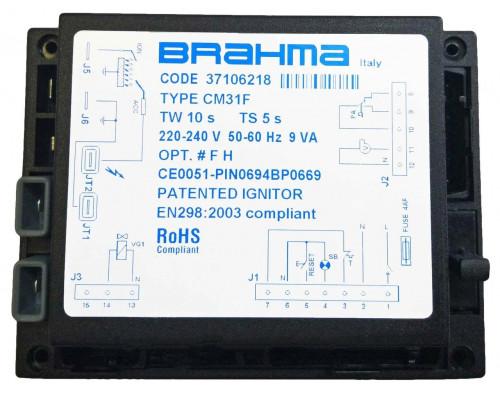 Блок управления горением Brahma CM31F  37106218
