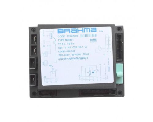 Блок управления горением Brahma NDM31, 37542003