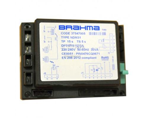 Блок управления горением Brahma NDM31, 37547005