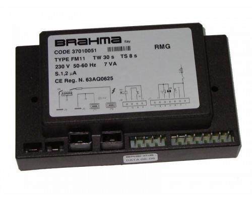 Плата УПРАВЛЕНИЯ Brahma FM11 (TW 30s TS 8s) RMG 70-100 к котлу Sime Rx-55