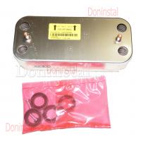 Вторичный теплообменник 16 пластин на газовый котел Ariston CLAS, Genus, BS65104333