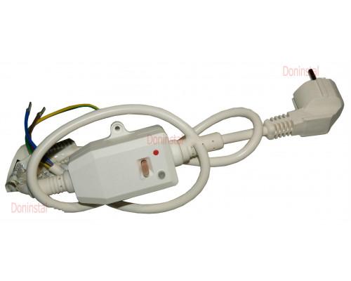 Кабель электрический с УЗО 10А/230V для водонагревателя Ariston 1500-1800W65150868