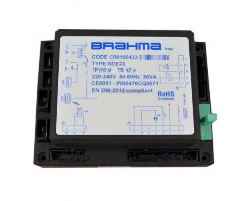 Блок управления горением Brahma NDE31, C00100433