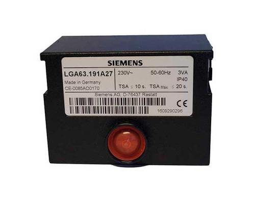 Блок управления горением Siemens LGA63.191A27