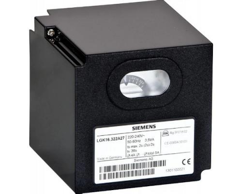 Блок управления горением Siemens LGK16.322A27