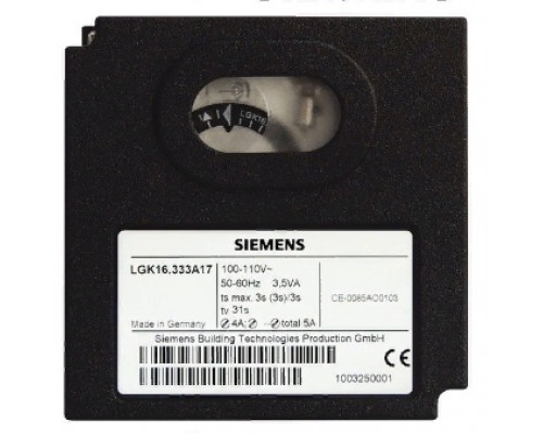 Блок управления горением Siemens LGK16.333A17