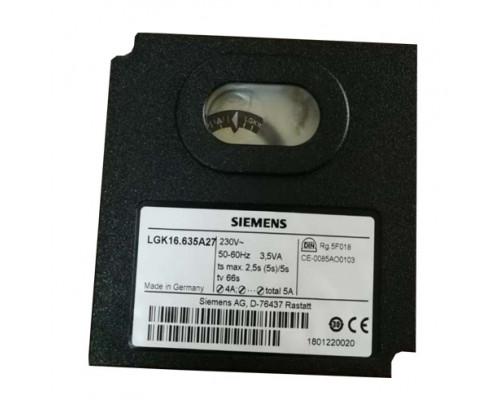 Блок управления горением Siemens LGK16.635A27