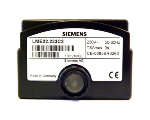Блок управления горением Siemens LME22.233C2