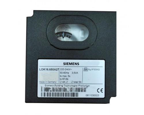 Блок управления горением Siemens LOK16.650A27