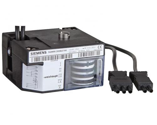 Сервопривод Siemens для горелки Weishaupt SQN90.200B2790